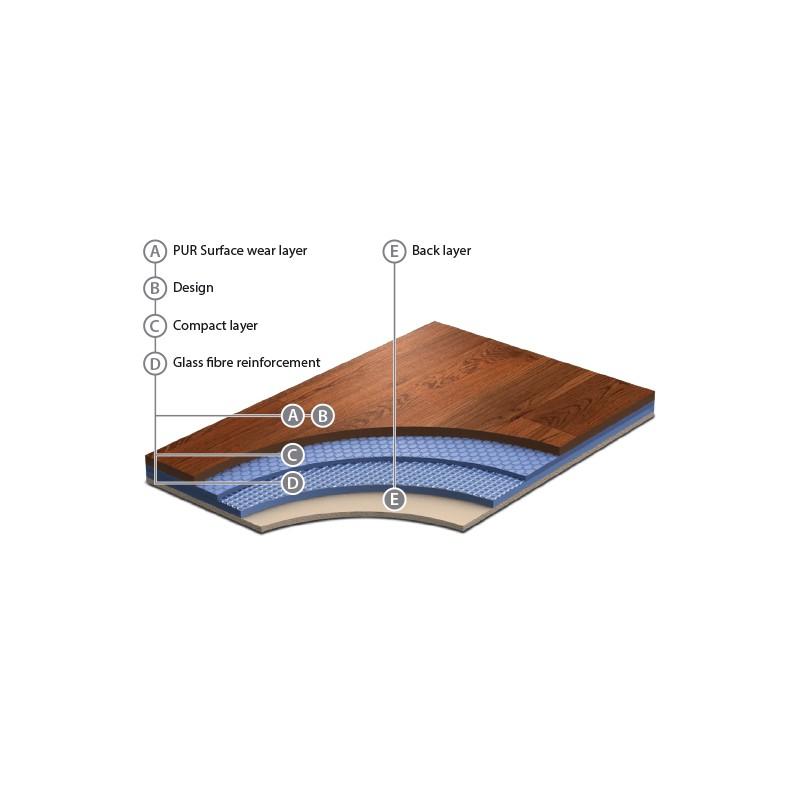 Revêtement de sol vinyle GRABO DIAMOND EVOLUTION
