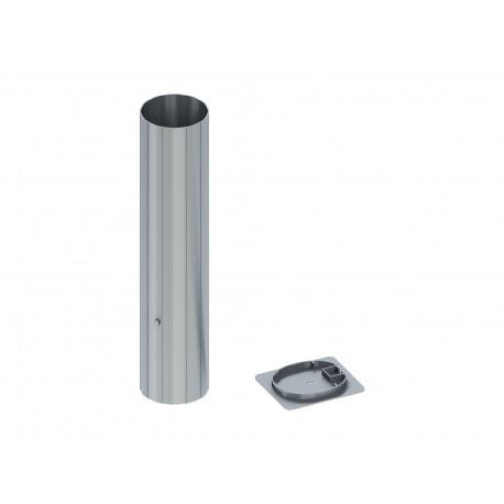 Fourreaux en aluminium pour Ø 102 mm