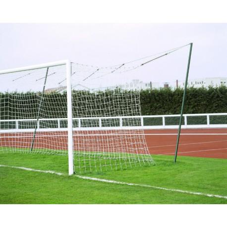Filets de foot à 11 TPE 3 mm MS forme européenne
