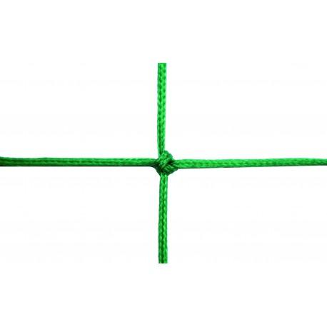 Filets de foot à 8 TPE 3 mm forme triangulaire pour buts repliables
