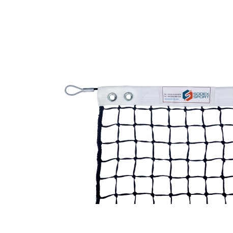 Filet de padel 3 mm maille simple sans régulateur