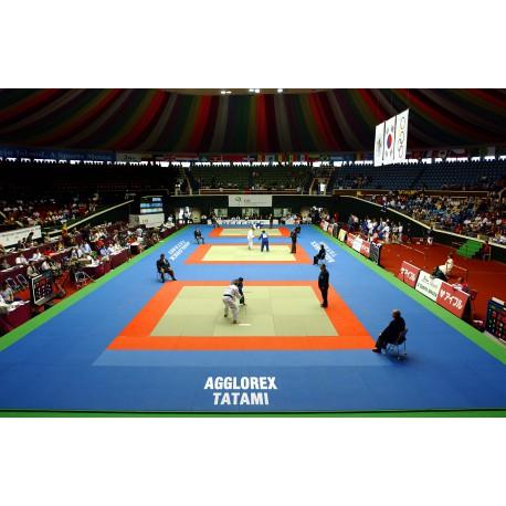 Tapis de judo - tatami - label fédération française de judo