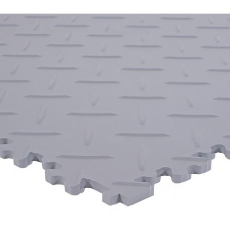 Dalle PVC sol industriel - Tôle Larmée