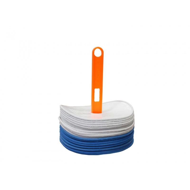 Coupelles plates et souples ∅ 20 cm