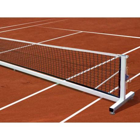 Poteaux de tennis mobiles acier galvanisé 80 x 80 mm