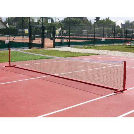 Poteaux de mini tennis mobiles en aluminium 6m