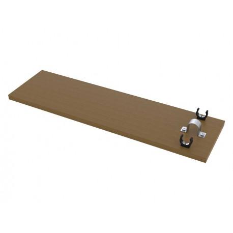 Tablette amovible pour chaise d'arbitre acier