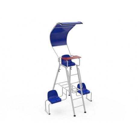 Protection solaire pour chaise d'arbitre