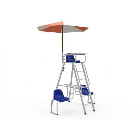 Adaptateur parasol pour chaise d'arbitre