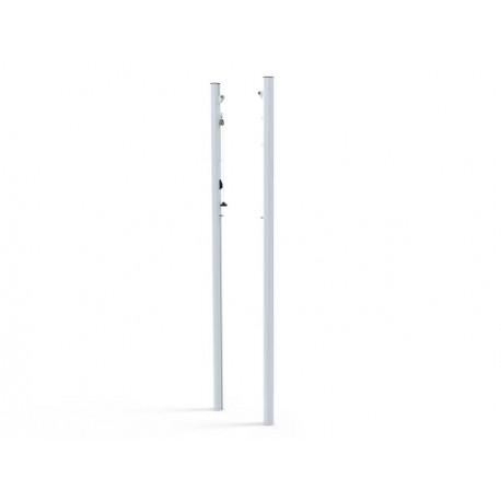Poteaux de Volley entraînement à sceller en aluminium Ø90 mm