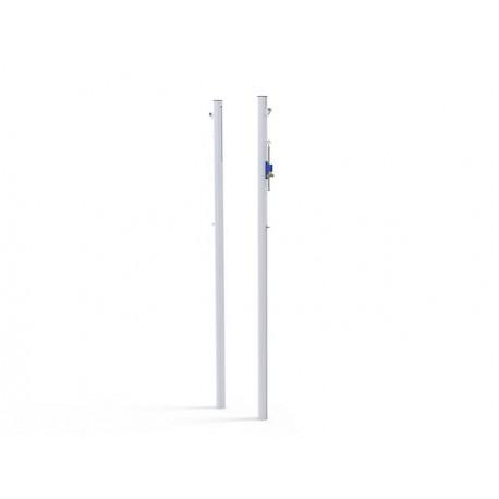 Poteaux de Volley compétition à sceller en aluminium Ø90 mm