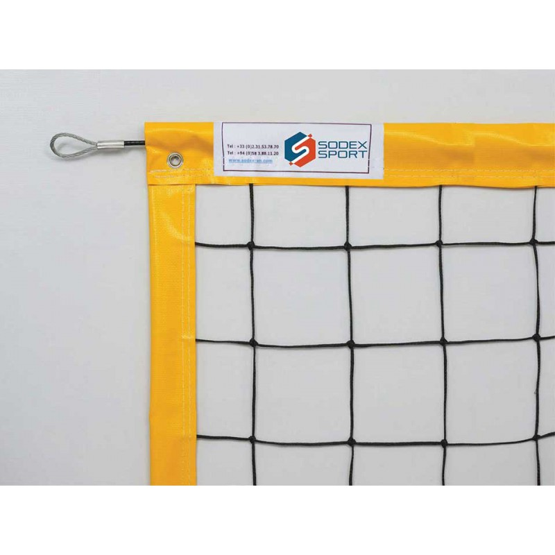 Filets de Beach Volley câblés