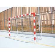 Buts de Handball monobloc Compétition à sceller en acier galvanisé