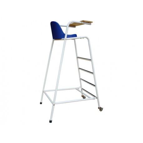 Chaise d'arbitre de badminton en acier