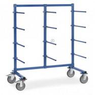 Barre de portée horizontale PVC - Chariot Cantilever