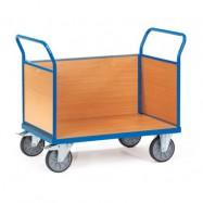 Chariot à 3 ridelles