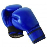 Gants de boxe bleus