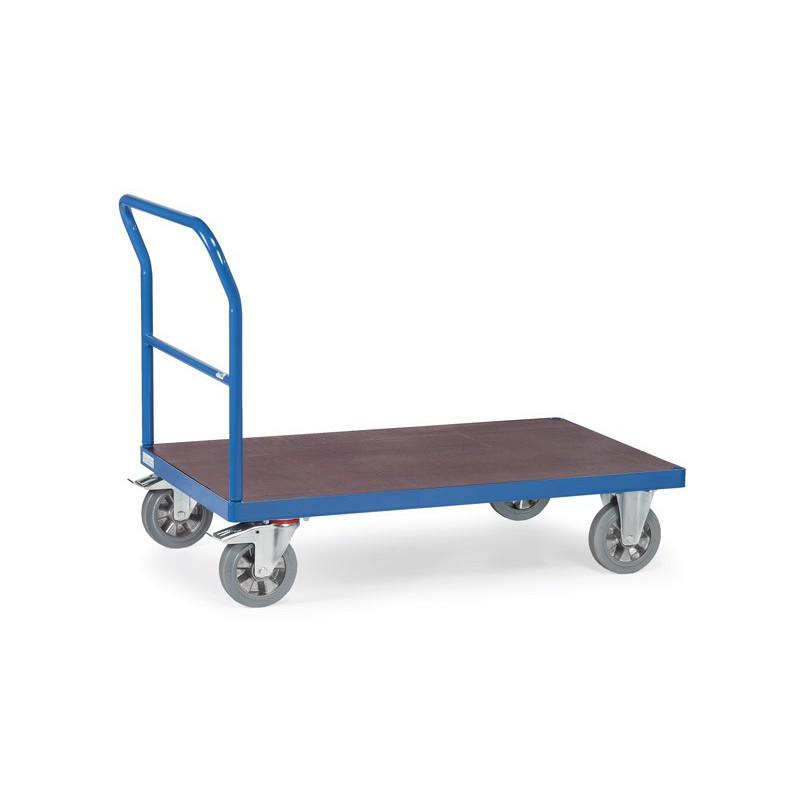 Chariot à dossier de poussée