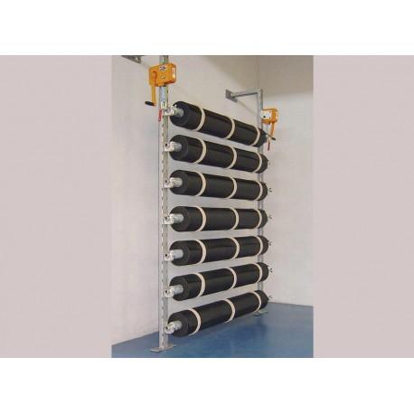 Stockeur de rouleaux de protection de sol - SOL-MUR