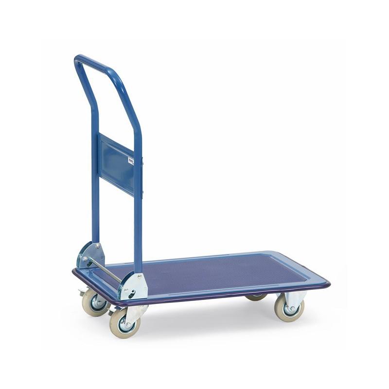 Chariot à plateaux acier
