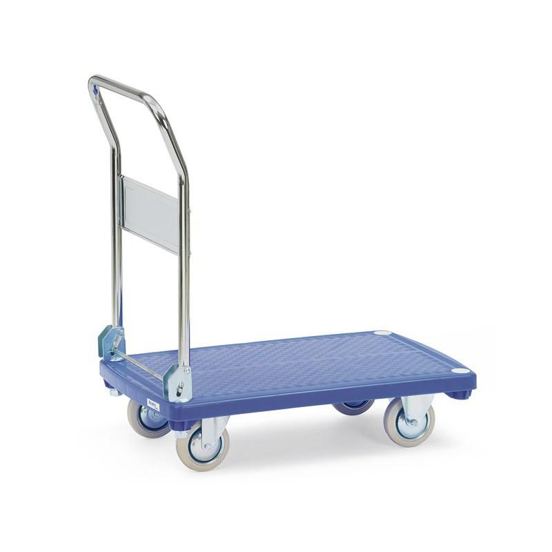 Chariot à plateaux plastiques