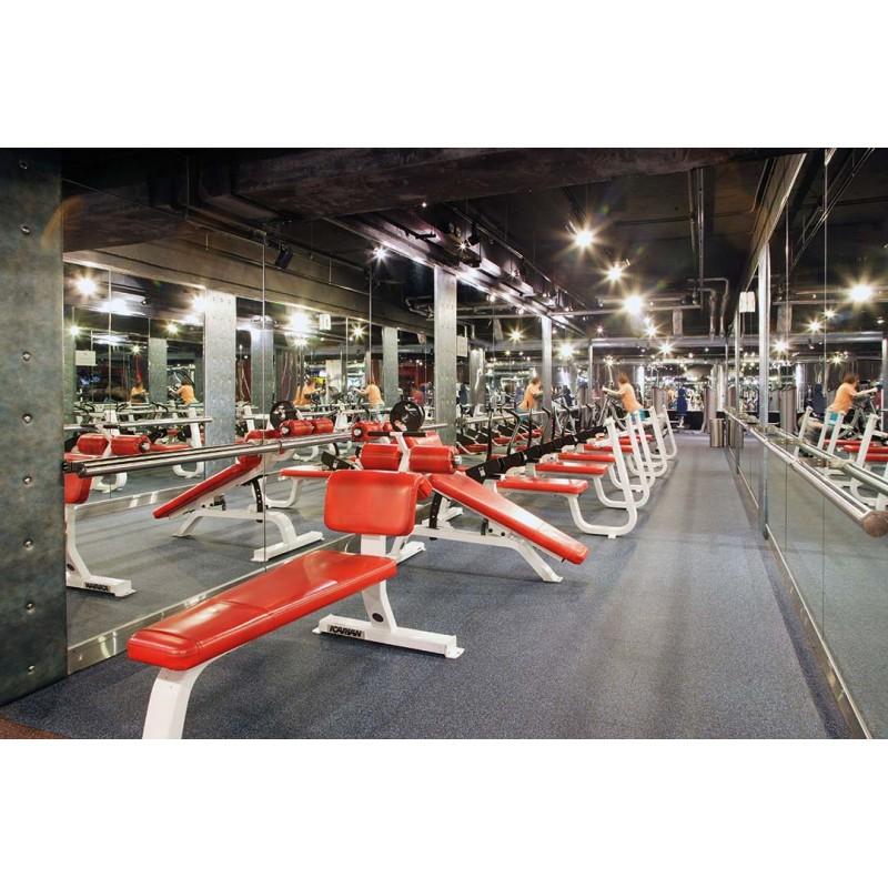 Revêtement De Sol Caoutchouc Pour Salle De Crossfit Fitness