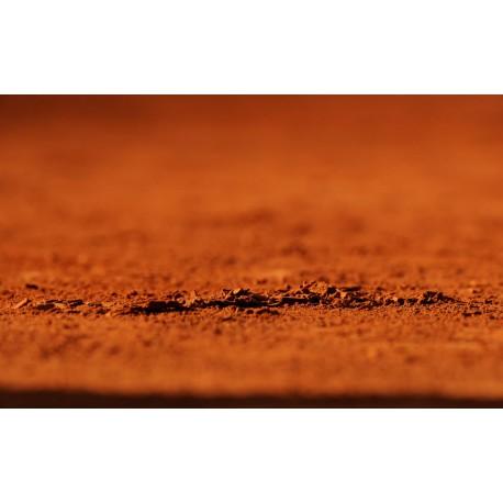 Brique pilée 0/1mm (pour tennis en terre battue) en sac de 25kg
