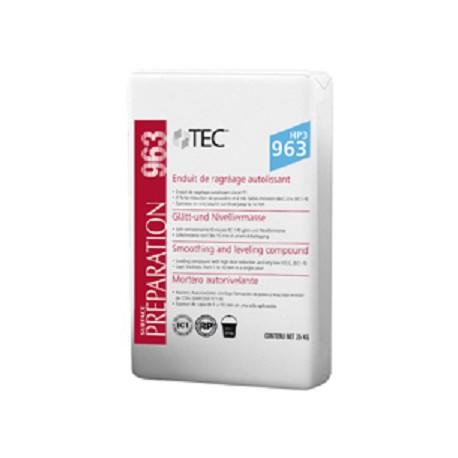 Enduit de ragréage autolissant - classé P3 - à forte réduction de poussière TEC™ - 963 HP3