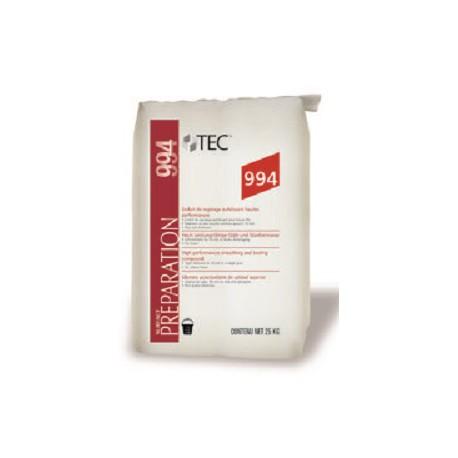Ragréage ciment autolissant pour la préparation des supports intérieurs dans les locaux P4s - TEC 994