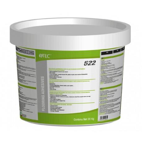 Colle haute performances - pour collage techniques de revêtement PVC et textile - TEC 522