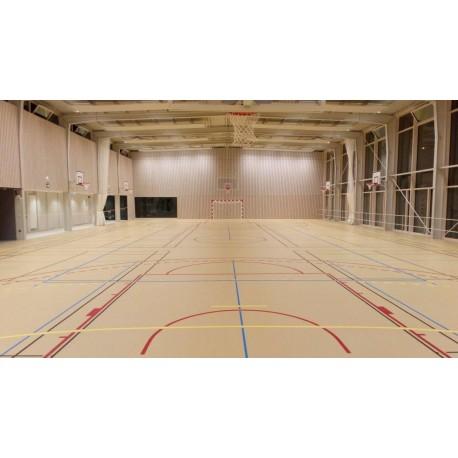 Revêtement de sol sportif PVC P2 - GRABOSPORT MEGA
