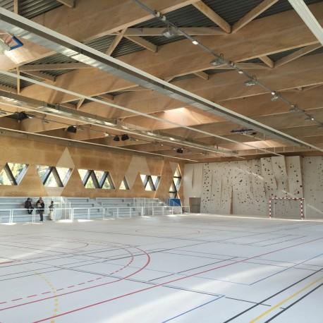 Revêtement de sol sportif PVC P1 - GRABOSPORT SUPREME