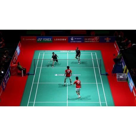 Sol sportif PVC Badminton - GRABOSPORT ROCKET