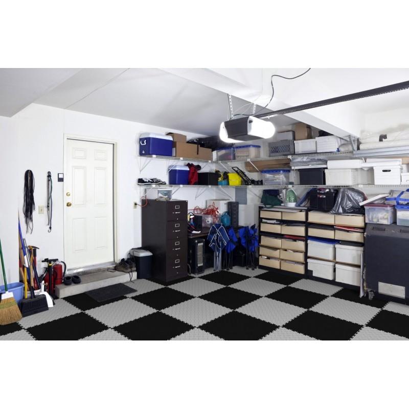 Dalle pvc pour garage / commerce / Salle de sports ...