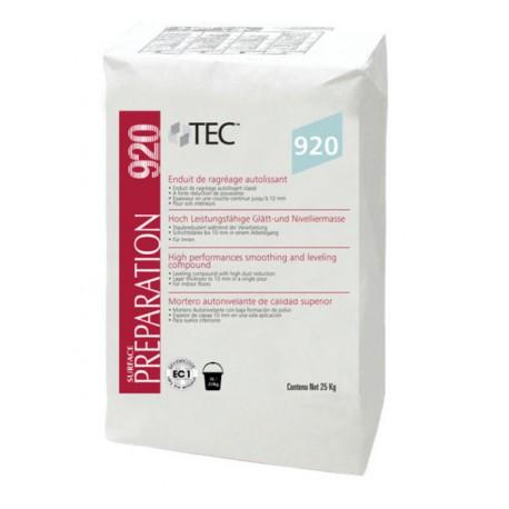 Enduit de ragréage autolissant à base de sulfate de calcium TEC 922