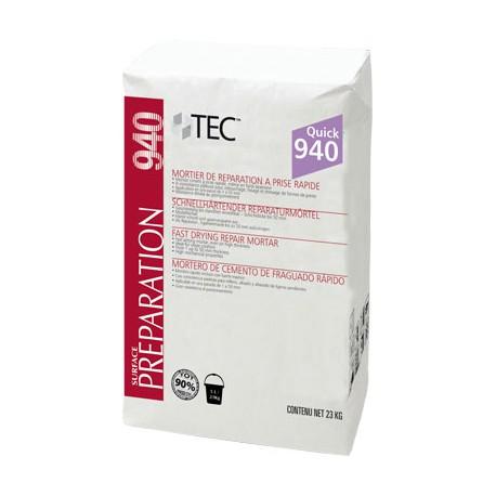 Mortier ciment à prise rapide pour travaux d'égalisation et de dressage TEC 940 QUICK