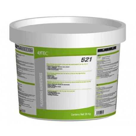 Colle rapide pour revêtements de sol en PVC et textile - TEC 521