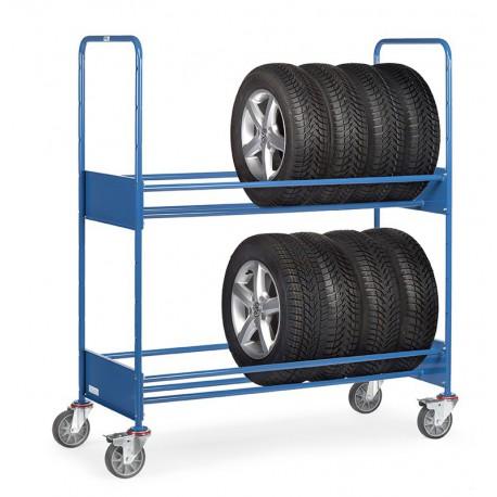 Chariot pour pneumatiques