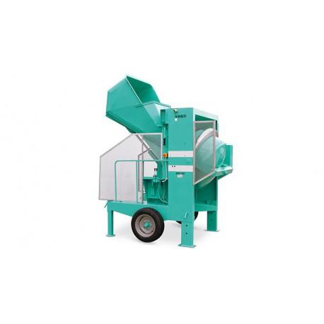 Bétonnière à chargeur hydraulique tractable BRO 500