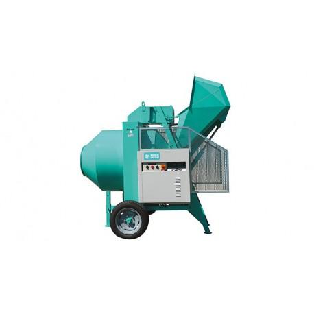 Bétonnière à chargeur hydraulique tractable BIO 400