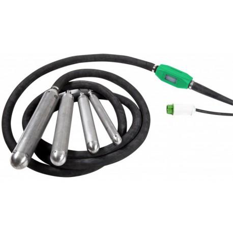 Aiguille vibrante électrique avec protection thermique VT0470T