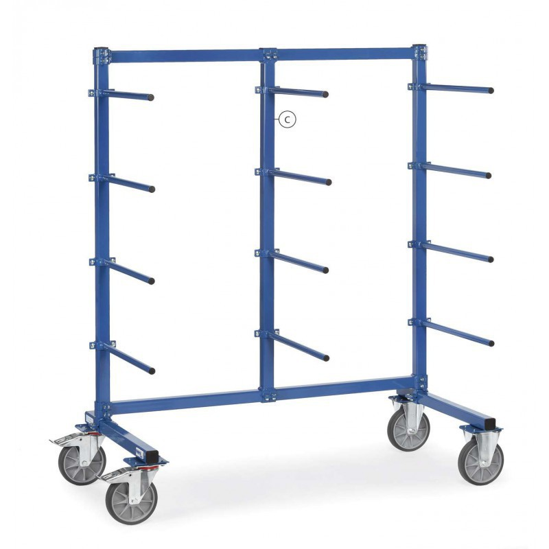 Barre verticale - Chariot Cantilever