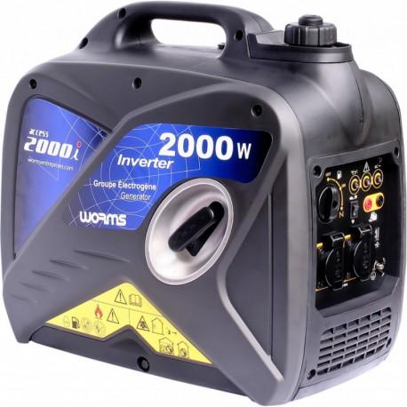 Groupe électrogène ACCESS 2000 i - Monophasé 2,5 kVA