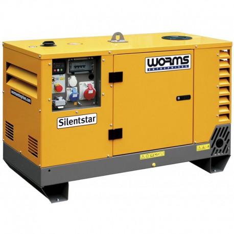 Groupe électrogène SILENTSTAR 7 T AVR YN - Diesel 7,6 kVA + AVR