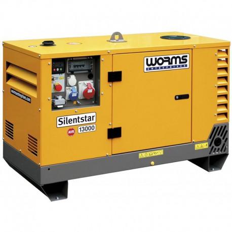 Groupe électrogène SILENTSTAR 13000D T AVR YN - Diesel 14,3 kVA + AVR