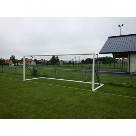 But de foot à 11 transportable en aluminium Ø 102 mm avec contrepoids à lester et adaptateurs