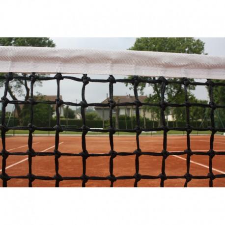Filet de tennis 3 mm maille double - Bande sur le périmètre