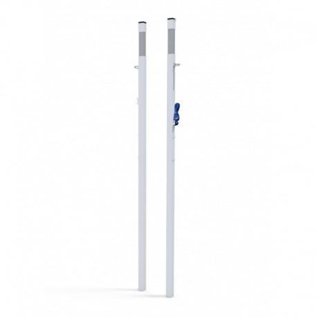Poteaux badminton compétition à sceller - Modèle FFBAD